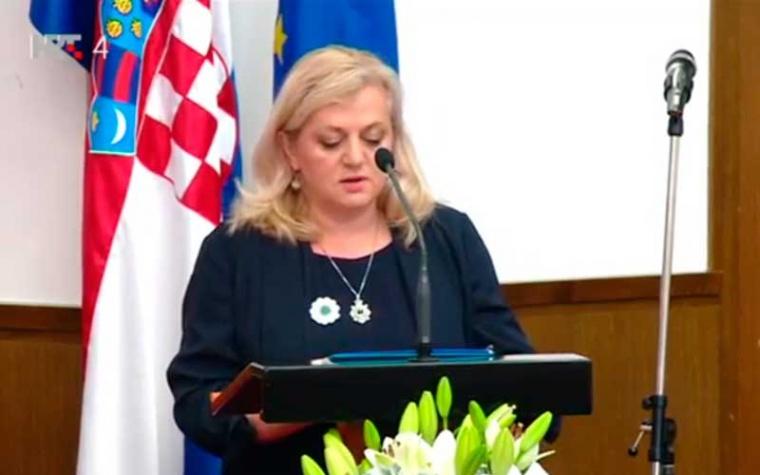 U Hrvatskome saboru održana je komemoracija 24. obljetnice genocida u Srebrenici