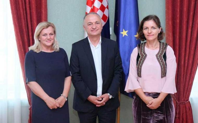 Ermina Lekaj Prljaskaj primila izaslanstvo albanske Državne agencije za dijasporu