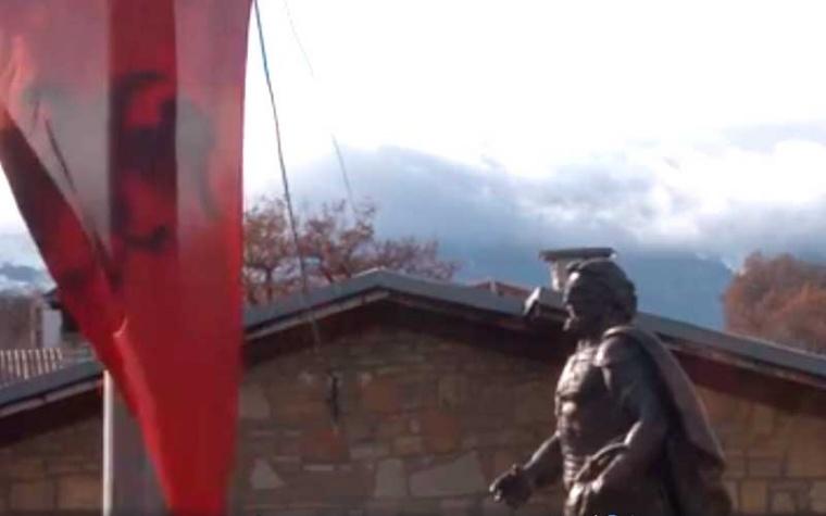 Në Zym të Hasit u përurua shtatorja e Skenderbeut