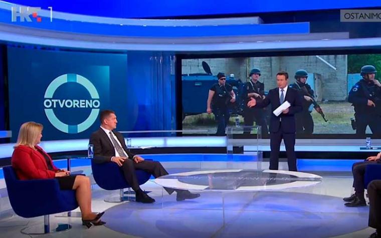 """HRT Otvoreno  """"Što se događa na granici Kosova i Srbije?"""""""